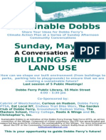 Buildings and Land Use -- Community Conversation