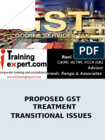 Transitional Issues Sept 2014 by ITrainingExpert