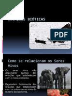 (2) Ciências Naturais - 8º Ano - Relações Bióticas