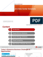 1 Huawei IT, Cloud Data Center Solution High Level Main Slide V1.0