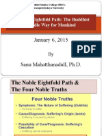 Lecture6.the Noble Eightfold Path the Buddhist Middle Way for Mankind