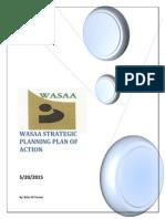WASAA's Strategic Planning Plan of Action