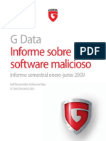 Informe Malware G Data Enero-Julio 2009