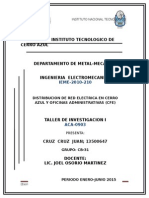 Proyecto Cfe (Red Electrica)