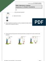 3º ESO_Tema 3_Actividades Poleas y polipastos
