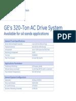 320t Ac Drive System