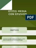 Otitis Media Con Efusion