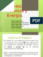 Energia Mecanica. Trabajo, Potencia, Energia Potencial y Cinetica
