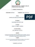 Modelos de Proceso Prescriptivos