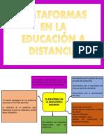 Plataformas en La Educacion a Distancia Cris