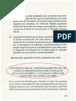 Convenio para el aprovechamiento de las cuencas hidrográficas binacionales Puyango-Tumbes y Catamayo-Chira (1971)