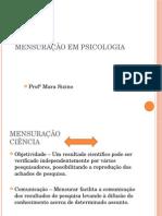 Mensuração Em Psicologia