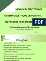 Instruções Para Seminário - SEP