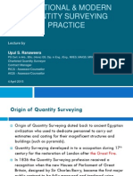 1. Traditional & Modern Quantity Surveying Practice - R0