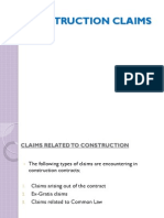 3. Construction Claims - r0