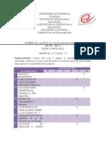 Formato de Autoevaluacion Sesion 3 y 4 de 8 3° amelia