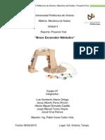 Reporte Proyecto Brazo Hidraulico