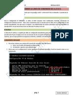 Configuracion IP Desde Linea de Comandos Ms-DOS