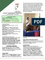 Moraga Rotary Newsletter- May 26 2015
