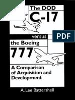1999-10 DOC C17 Versus Boeing