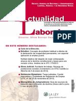 Revista Actualidad Laboral Abril 2014