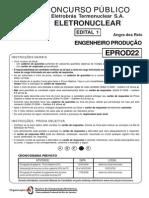 01 Eletronuclear 2006 - Prova