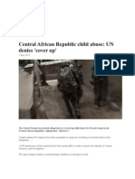 central african republic child abuse