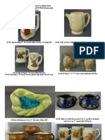 Art Pottery for Sale from PatsPots.com