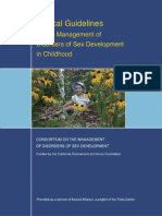 Clinical Guidelines for the Management of Disorders of Sex Development in Childhood