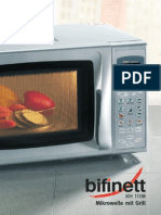 Bifinett Kh 1108 Microwave Oven With Grill User Guide