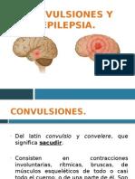 Síndrome convulsivo, presentación.