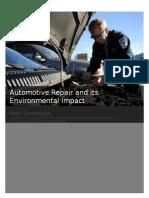 automotive repair and its environmental impact