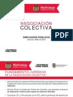CARTILLA NEGOCIACIÓN COLECTIVA SECTOR PÚBLICO