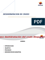 Deshidratacion Crudo Bl 16
