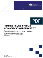 Timber Truss Bridges Subs Revised Strategy August 2012