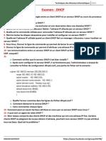 Examen - DHCP