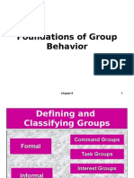Foundations of Group Behavior