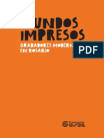 Elisabet Veliscek; Esther Finkelstein, Mundos Impresos. Grabadores Modernos en Rosario