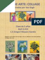 Flores Inspirados Por Van Gogh