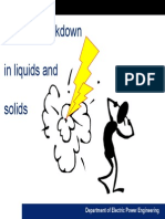 Hvt 4 Breakdown in Liquids Chalmers