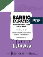 Libro Barrio Balmaceda