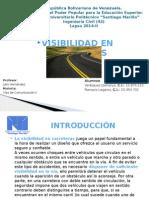 Visibilidad en Carreteras