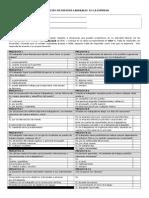 Evaluacion de Riesgos Laborales en La Empresa