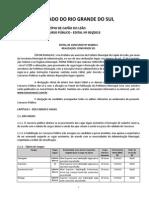 Edital Nº 001 2015 Cuncurso Público