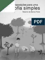 Dez proposições para uma filosofia simples