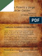 Carlos Pizarro y Jorge Eliécer Gaitán
