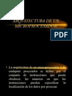 Arquictectuta de Microprocesador