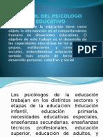 El Rol Del Psicólogo Educativo 1
