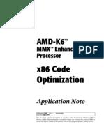 x86 Code Optimization for AMD Processors