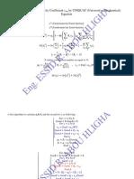 Uniquac Activity Coefficient